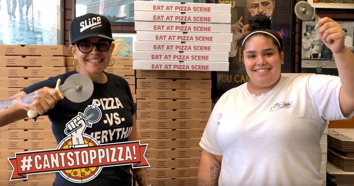 Gloria Rodriguez Pizza Scene