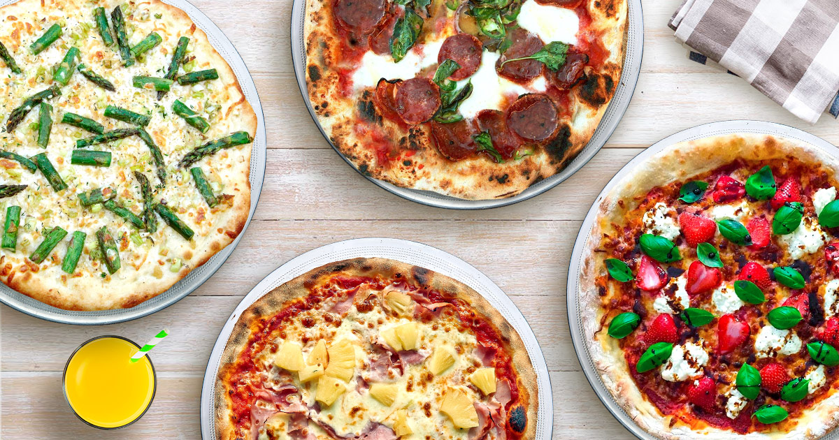 Pizza toppings for spring