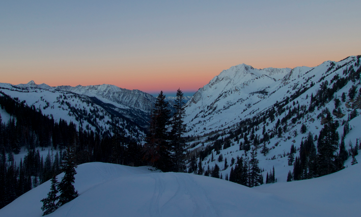 Wasatch Mountains.