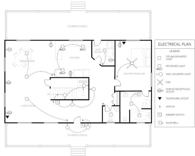Floorplan-Electrical