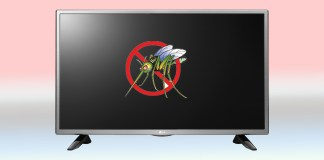 LG mosquito repelling TV smartprix