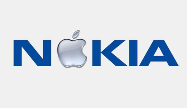 nokia-apple-logo
