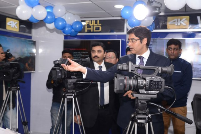 Panasonic Opens Exclusive 4K Imaging Pro Center In New Delhi