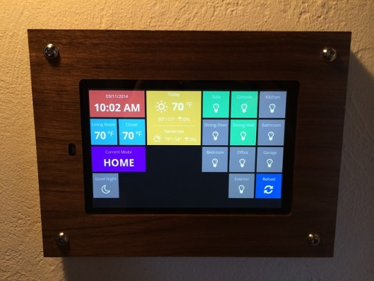 Home Automation Dashboard Smartthings