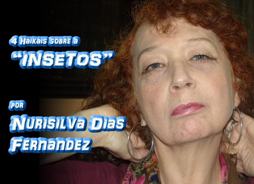 """""""4 HAIKAIS SOBRE INSETOS"""" por Nurisilva Dias Fernandez - Pílulas de Poesia"""