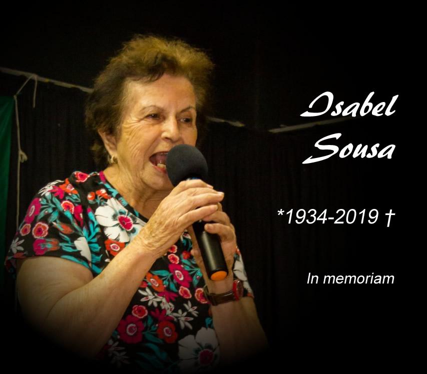 Em memória de Isabel Sousa