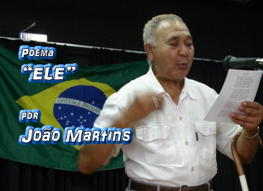 """02 - Poema """"ELE"""" por João Martins - Pílulas de Poesia"""