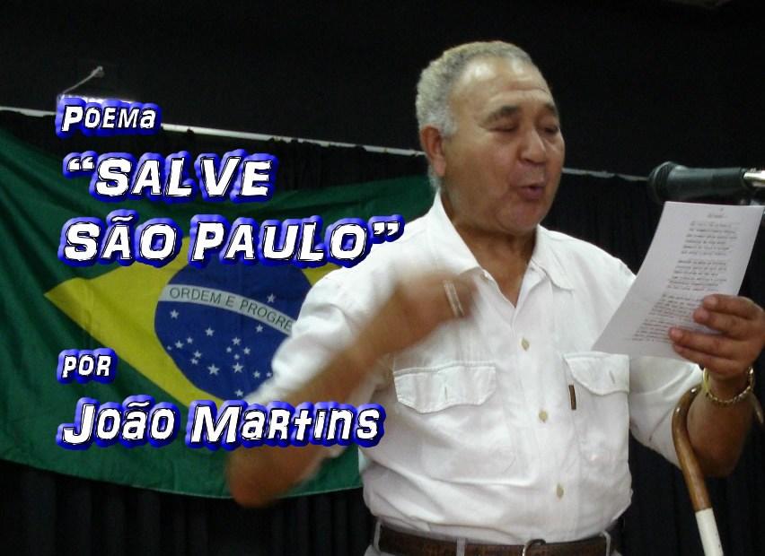 """03 - Poema """"SALVE SÃO PAULO"""" por João Martins - Pílulas de Poesia"""