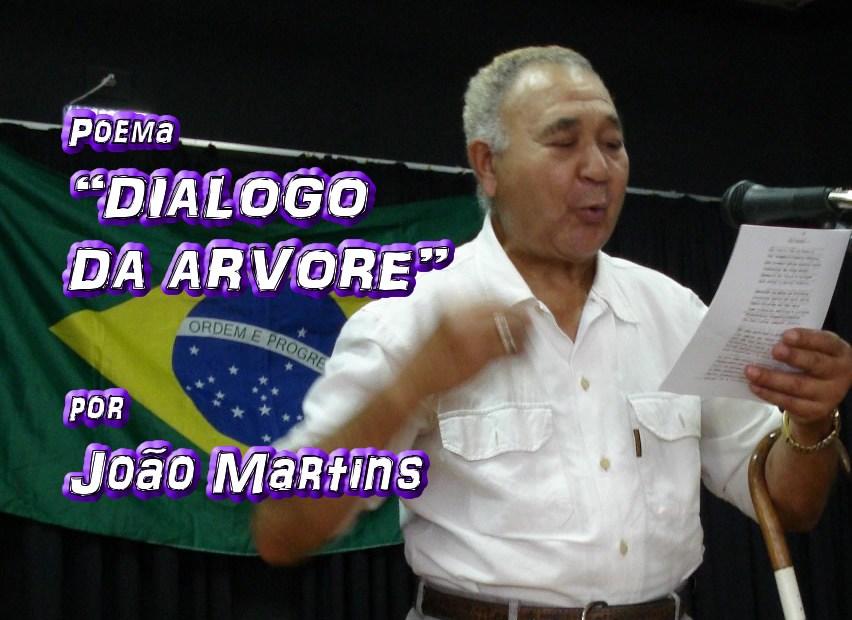 """04 - Poema """"DIALOGO DA ARVORE"""" por João Martins - Pílulas de Poesia"""