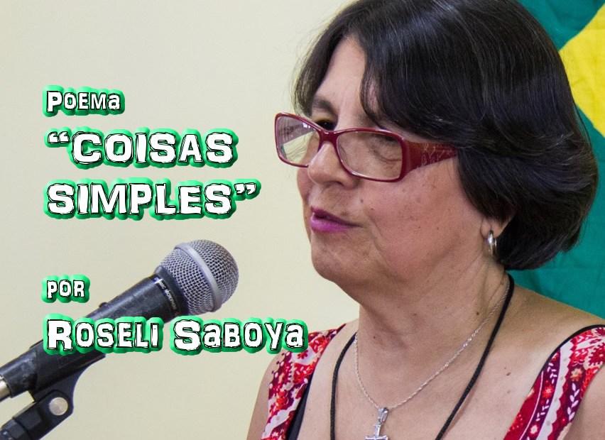 "08 - Poema ""TUDO É APRENDIZADO"" por Roseli Saboya - Pílulas de Poesia"
