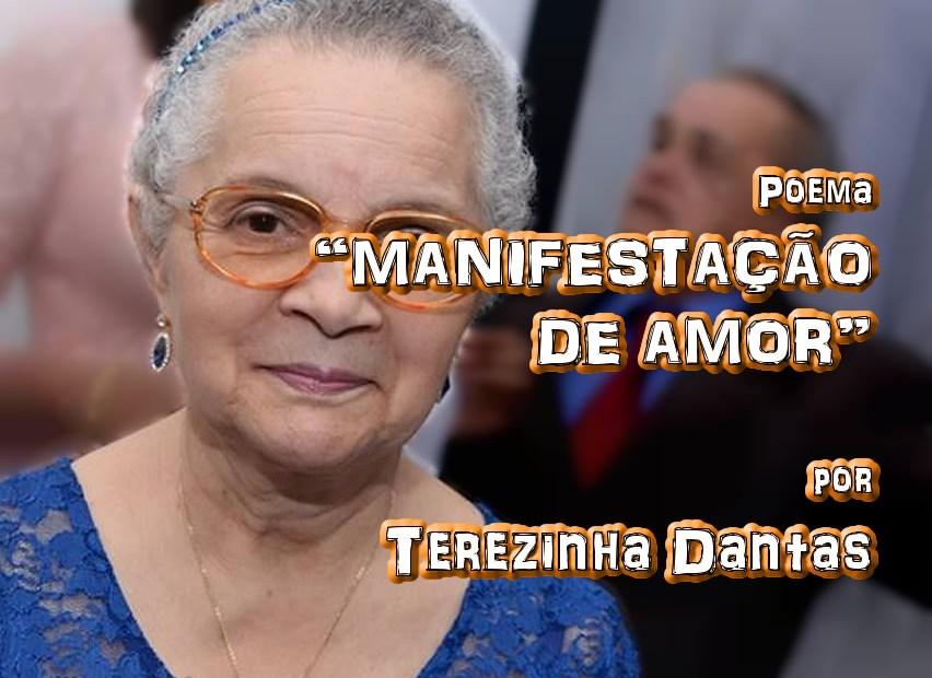 """09 - Poema """"MANIFESTAÇÃO DE AMOR"""" por Terezinha Dantas - Pílulas de Poesia"""
