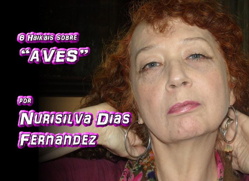 """10 - Poema """"SEIS HAIKAIS SOBRE AVES"""" por Nurisilva Dias Fernandez - Pílulas de Poesia"""