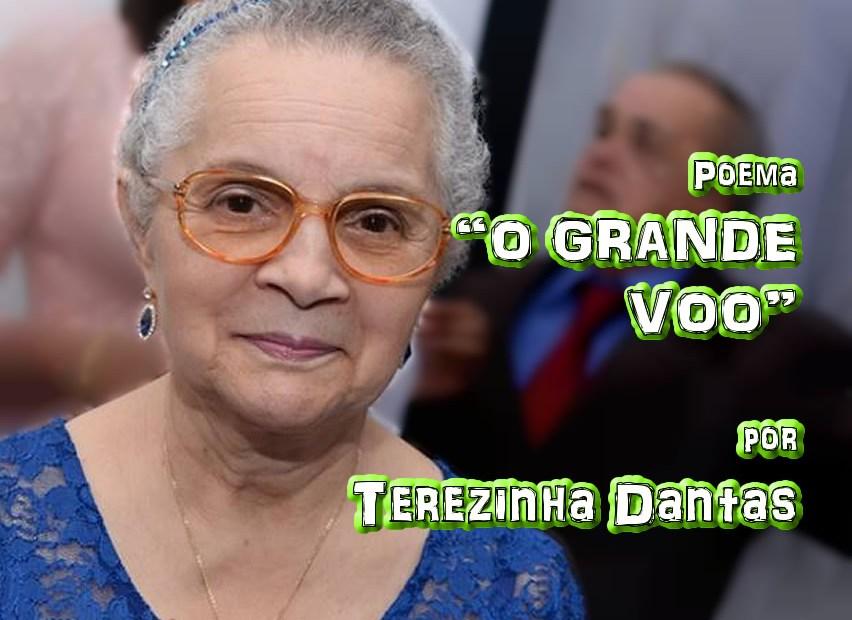 "12 - Poema ""O GRANDE VOO"" por Terezinha Dantas - Pílulas de Poesia"