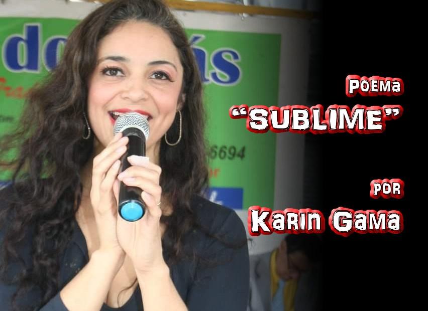 """12 - Poema """"SUBLIME"""" por Karin Gama - Pílulas de Poesia"""