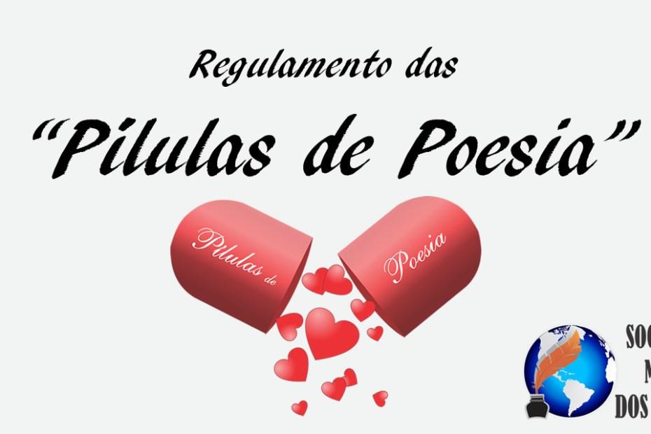 Pílulas de Poesia - Regulamento da SMPD