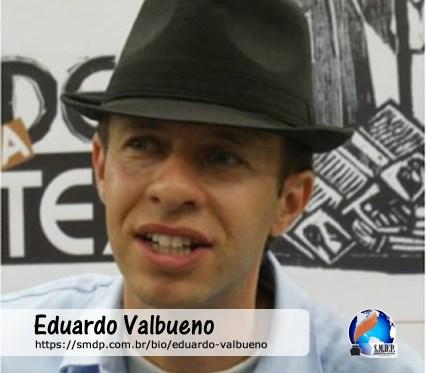 Eduardo Valbueno, poeta cordelista, participante no projeto Publique-se da SMDP em prol do Café com Poesia. Coleção: Leveza da Alma - Volume 2