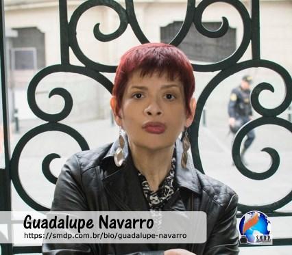 Guadalupe Navarro, poeta, participante no projeto Publique-se da SMDP em prol do Café com Poesia. Coleção: Leveza da Alma - Volume 4