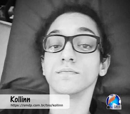 Kollin, poeta, participante no projeto Publique-se da SMDP em prol do Café com Poesia. Coleção: Leveza da Alma - Volume 10