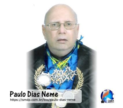 Paulo Dias Neme, poeta, participante no projeto Publique-se da SMDP em prol do Café com Poesia. Coleção: Leveza da Alma - Volume 12