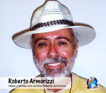 Roberto Armorizzi, poeta, participante no projeto Publique-se da SMDP em prol do Café com Poesia. Coleção: Leveza da Alma - Volume 7