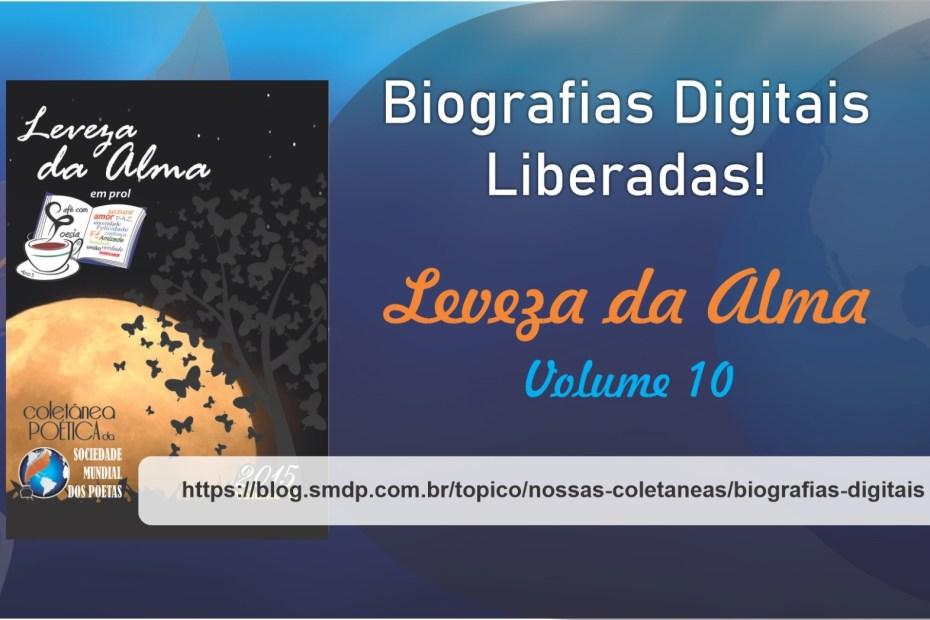 Biografias Digitais da Coletânea Leveza da Alma - Volume 10