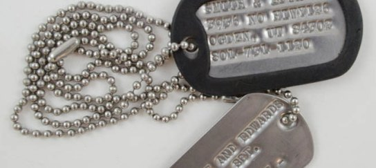 Customized Dog Tags at Smith and Edwards