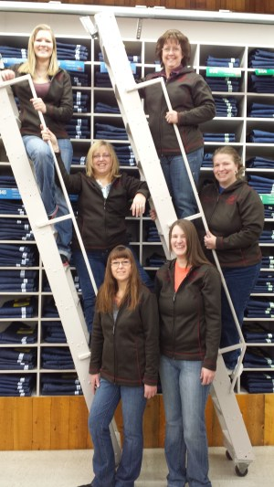 Smith and Edwards' Ladies of Wrangler can help you get the best fitting jeans!