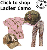 Ladies Camouflage on Smith and Edwards