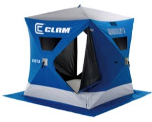 Clam Ice Fishing Shelter at Smith and Edwards