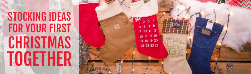 Christmas stocking ideas for your first Christmas together