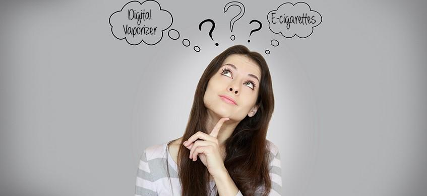 Digital Vaporizers and E-cigarettes