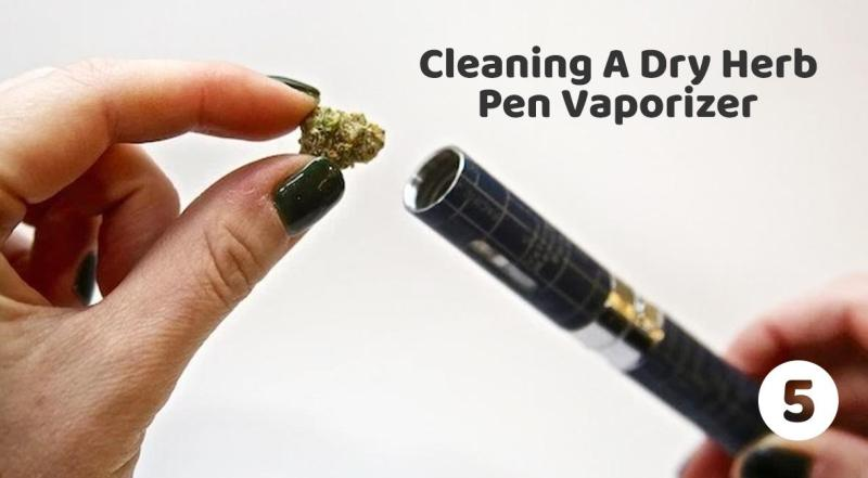 Cleaning your pen vaporizer - Dry herb Pen Vaporizer