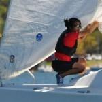 Sailing for Singapore: Terena Lam