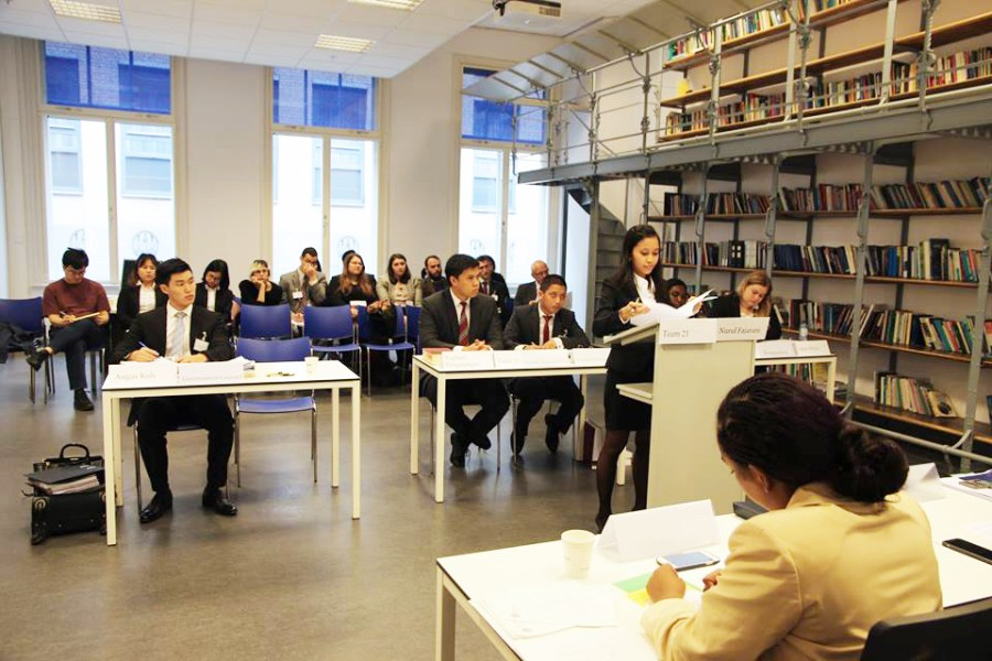 Preliminary rounds at ICC Moot