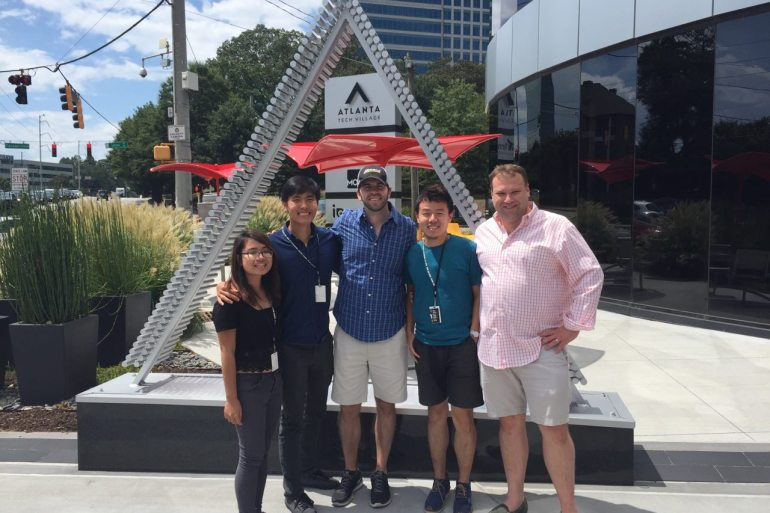 Ngoc Internship in Atlanta
