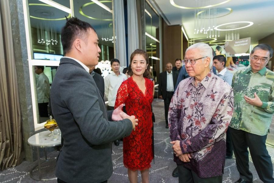 Meeting President Tony Tan at SIF's 25th Anniversary