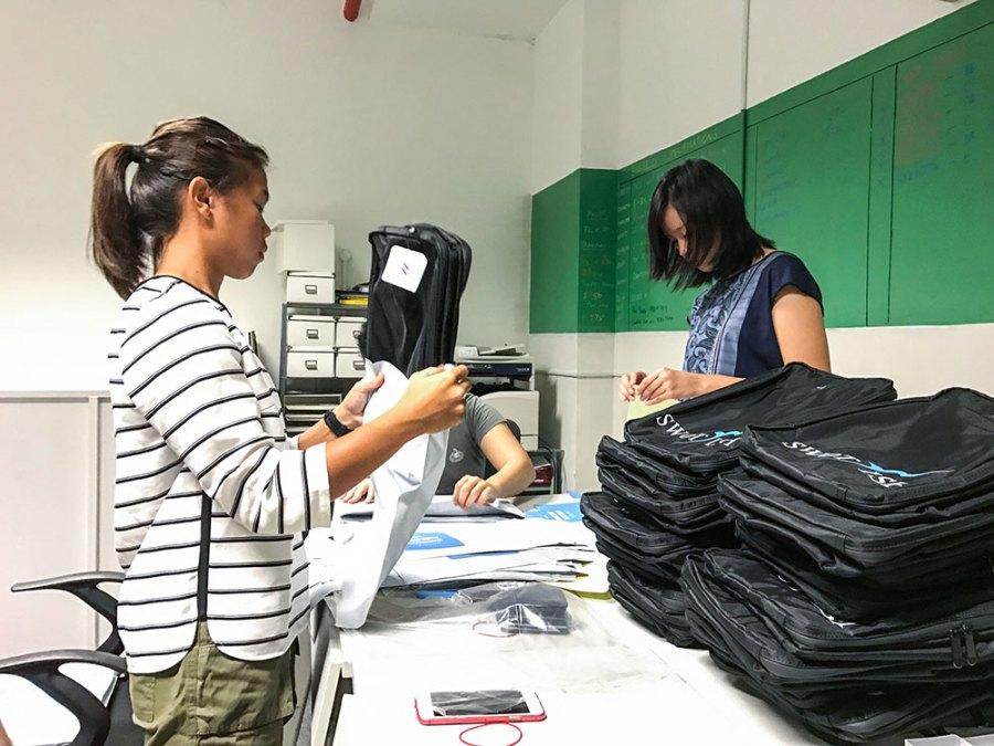 Mandy Chan - Packaging in progress