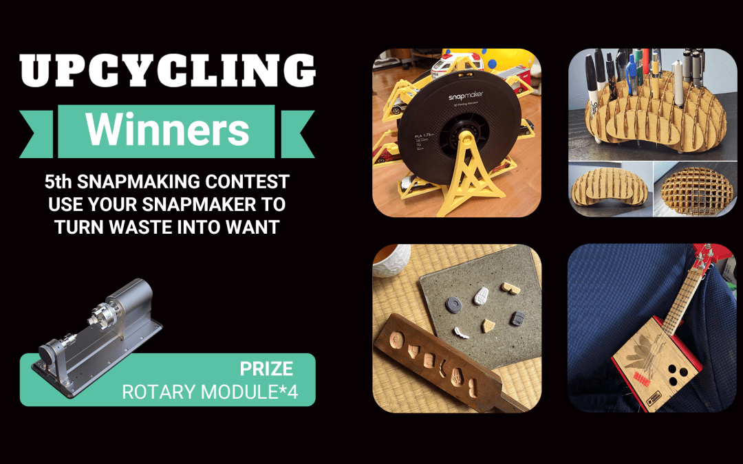 Snapmaking Contest – Upcycle results are out!