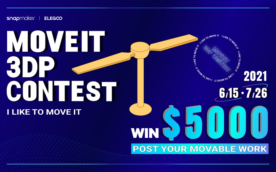 Share Your Movable Work to Win $5000 | MOVEIT 3DP CONTEST