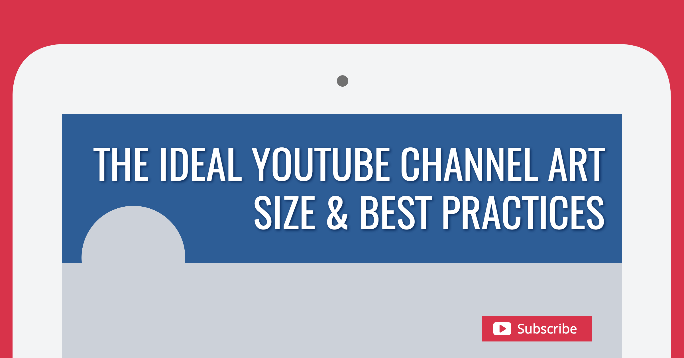 Otherwise your channel art may not display properly across all devices (desktop, mobile, tv, etc.). The Ideal Youtube Channel Art Size Best Practices 2021 Update
