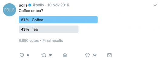 polls on twitter for engagement