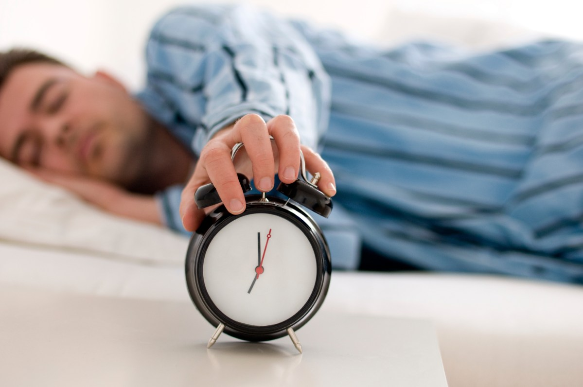 Sleeping too much is also bad for your health…