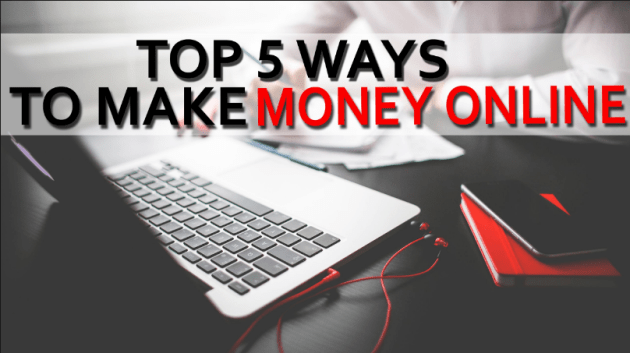 Image result for 5 ways to make money online