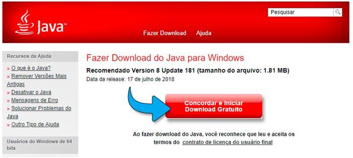 Download JAVA 2