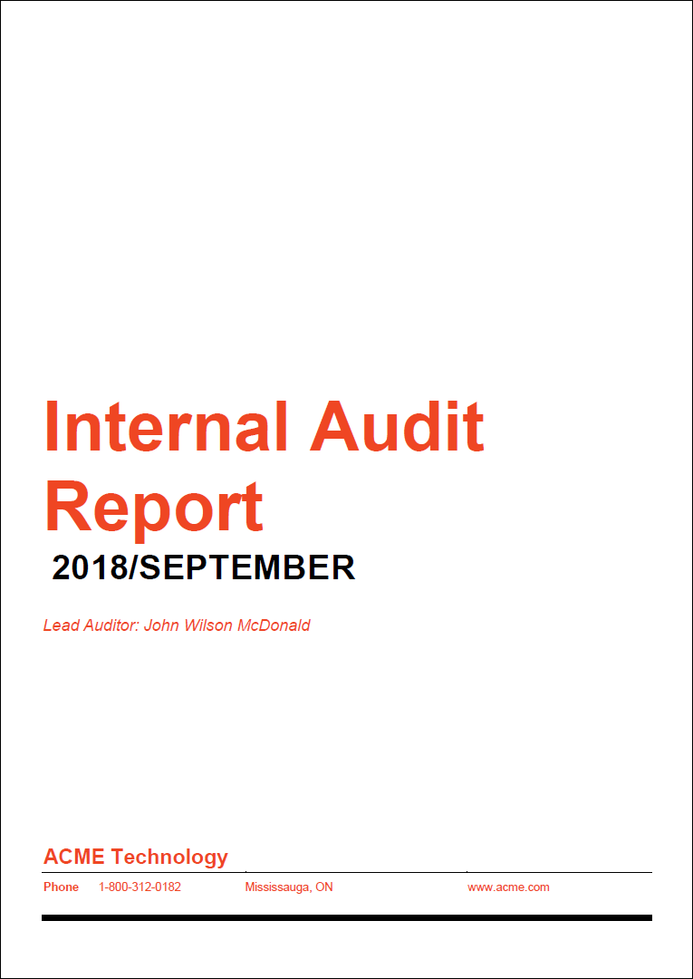 How to prepare a highimpact Internal Audit Report  SoftExpert Excellence Blog