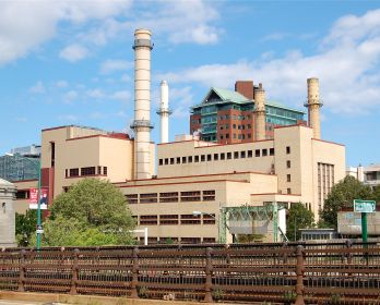 The Kendall Cogeneration Station in Cambridge, MA