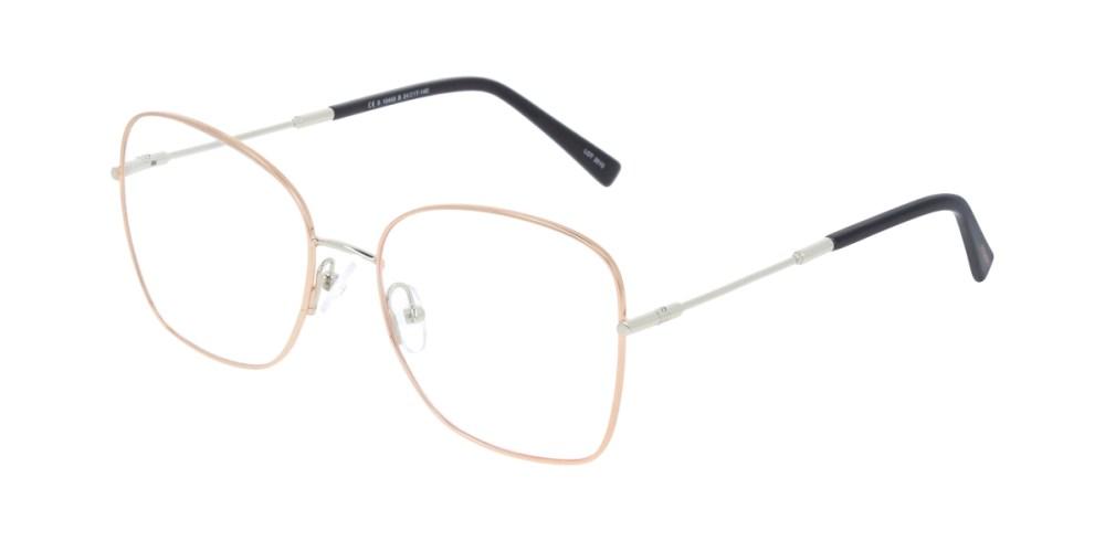 metalowe okulary