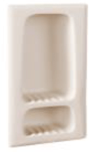 """Recessed Shampoo/Soap Holder 8"""" x 15"""" x 3"""" from Aristech"""