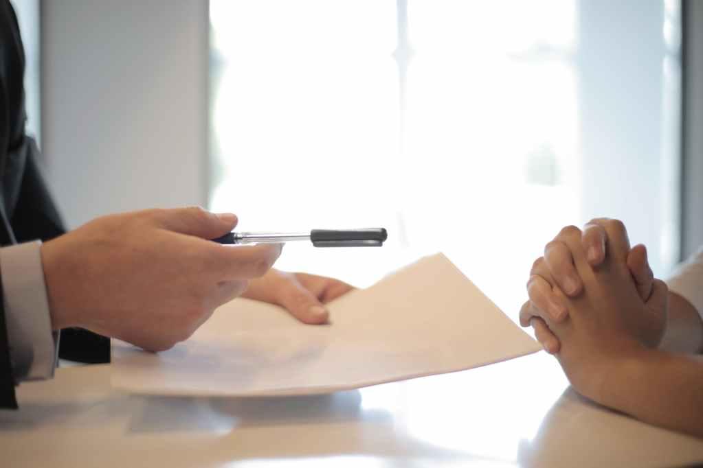 documento legale contratto testamento