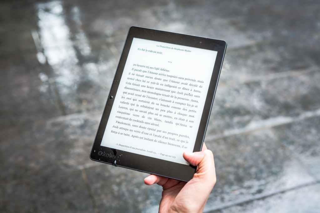 ebook reader kobo kindle